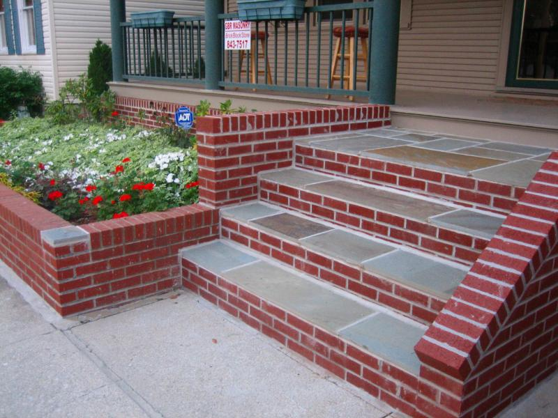3 Steps To Build Stairs With Brick And Stone Critchfield
